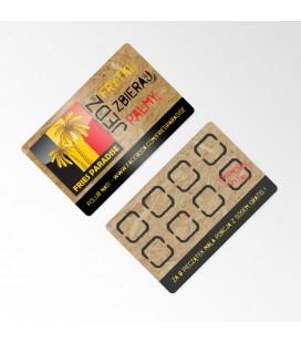 Wizytówki offsetowe - Karton jednostronnie laminowany