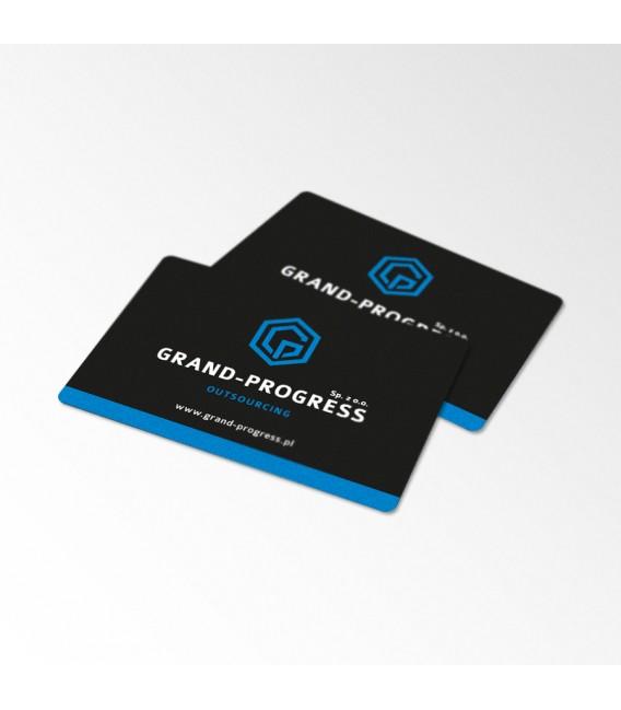 Karty plastikowe - druk jednostronny