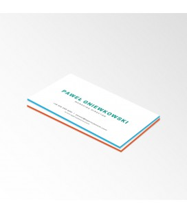 Wizytówki Multilayer Soft Touch - druk dwustronny