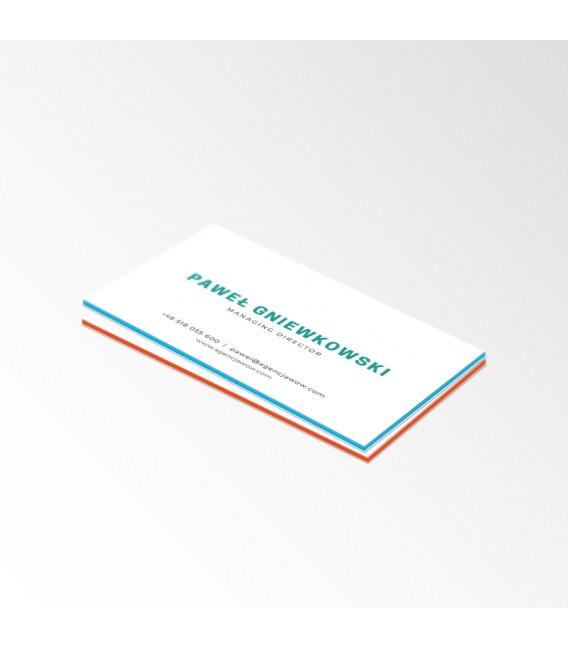Wizytówki Multilayer Standard - druk dwustronny